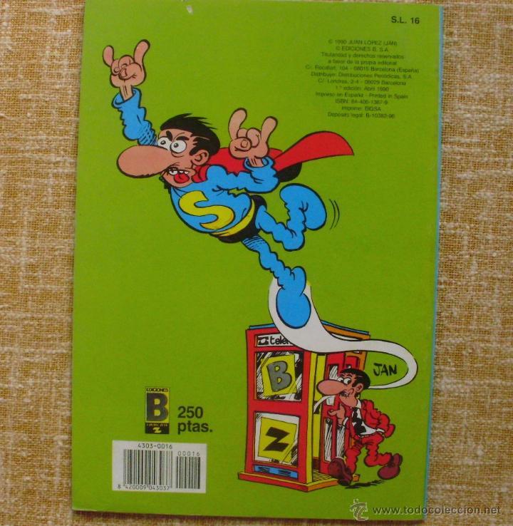 Cómics: Super López Comic, número 16, Colección Olé, Ediciones B, Grupo Zeta, Primera edición, 1990, Abril - Foto 5 - 43683948