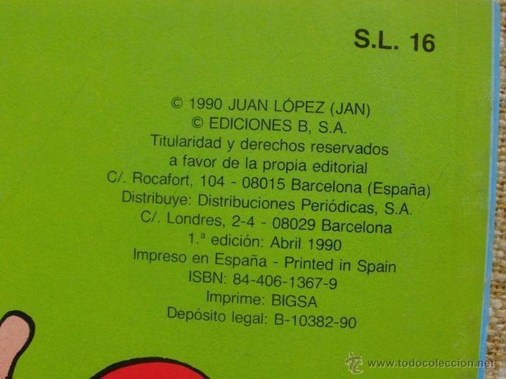 Cómics: Super López Comic, número 16, Colección Olé, Ediciones B, Grupo Zeta, Primera edición, 1990, Abril - Foto 6 - 43683948