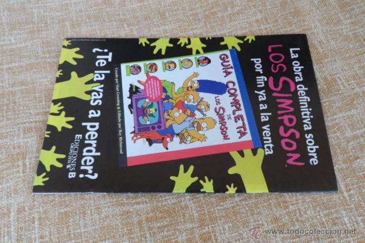 Cómics: Simpson Comics Comic, número 29, Ediciones B, Bongo Group, Grupo Zeta, autor Matt Groening, año 1999 - Foto 3 - 43791798