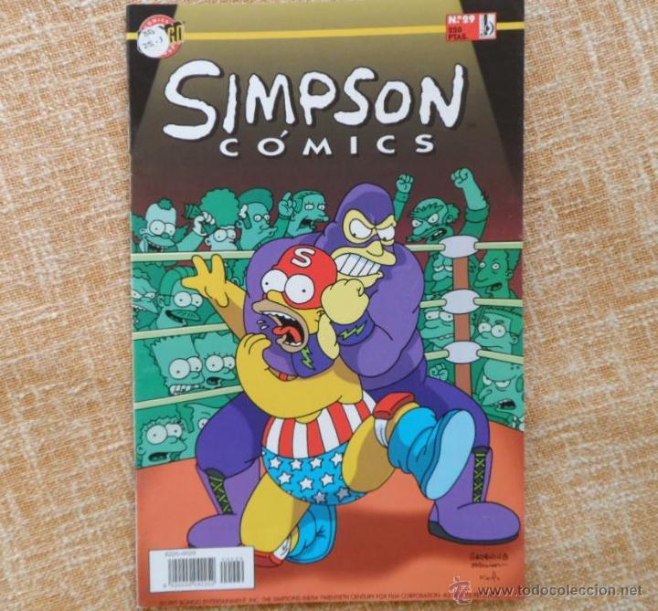 Cómics: Simpson Comics Comic, número 29, Ediciones B, Bongo Group, Grupo Zeta, autor Matt Groening, año 1999 - Foto 4 - 43791798