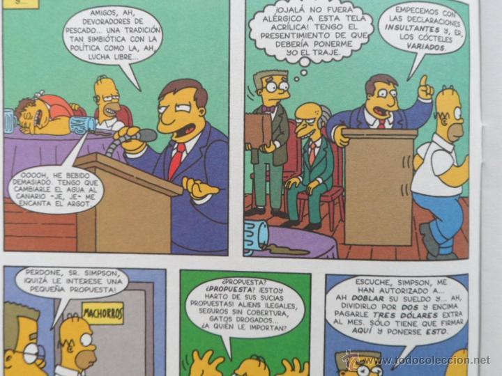 Cómics: Simpson Comics Comic, número 29, Ediciones B, Bongo Group, Grupo Zeta, autor Matt Groening, año 1999 - Foto 7 - 43791798