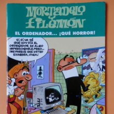 Comics: MORTADELO Y FILEMÓN. EL ORDENADOR... ¡QUÉ HORROR! - FRANCISCO IBÁÑEZ. Lote 43804910
