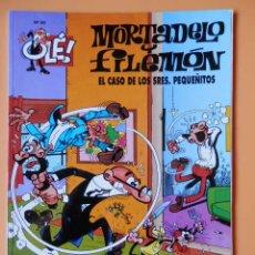Cómics: MORTADELO Y FILEMÓN. EL CASO DE LOS SRES. PEQUEÑITOS. OLÉ! Nº 90 - FRANCISCO IBÁÑEZ. Lote 43805052