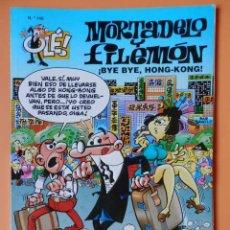 Cómics: MORTADELO Y FILEMÓN. ¡BYE BYE, HONG-KONG! OLÉ! Nº 140 - FRANCISCO IBÁÑEZ. Lote 43805069