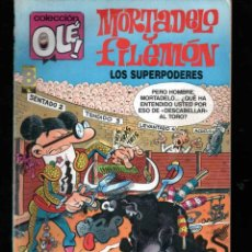 Comics: COLECCION OLE MORTADELO Y FILEMON 345 M 122 1ª ED. LOS SUPERPODERES. Lote 43866337