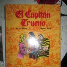 Cómics: EL CAPITAN TRUENO VICTOR MORA Y FUENTES MAN COMICS DE ORO NÚMERO 2 EDICIONES B NUEVO PRECINTADO. Lote 180945508