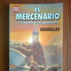 Cómics: SEGRELLES - EL MERCENARIO - DRAGON POCKET 1990 (1ª ED.) EL PUEBLO DEL FUEGO SAGRADO. Lote 44068111