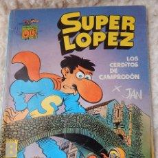 Cómics: OLE - SUPER LOPEZ N. 16 LOS CERDITOS DE CAMPRODON. Lote 44157688