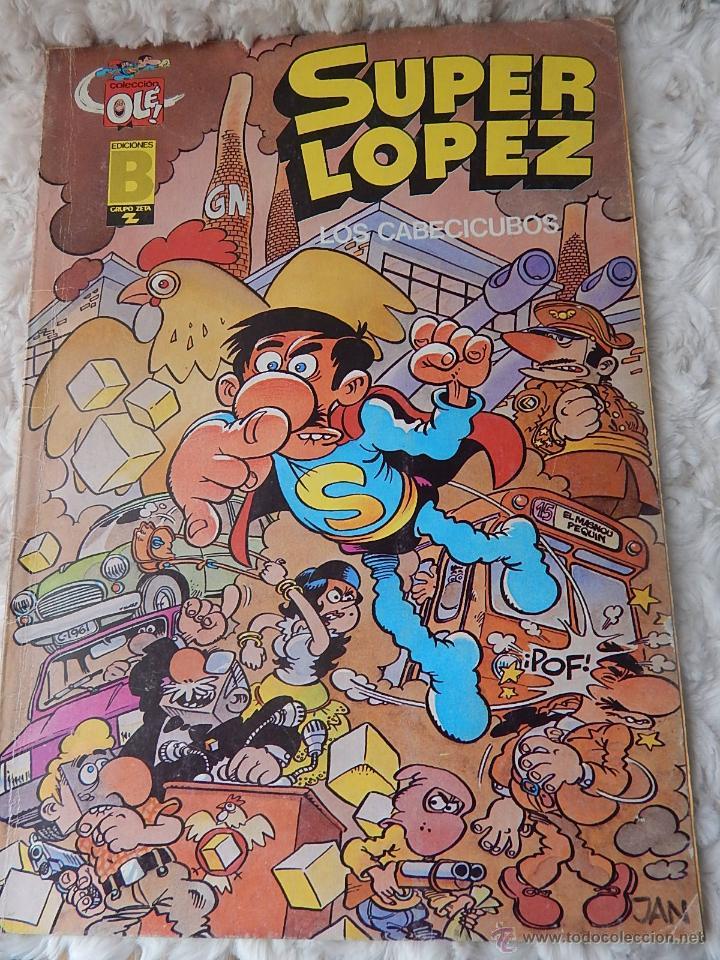 OLE - SUPER LOPEZ N. 7 - LOS CABECICUBOS (Tebeos y Comics - Ediciones B - Humor)