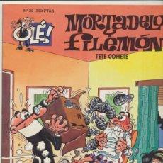 Comics : OLÉ. MORTADELO Y FILEMÓN Nº 28.. Lote 44163181