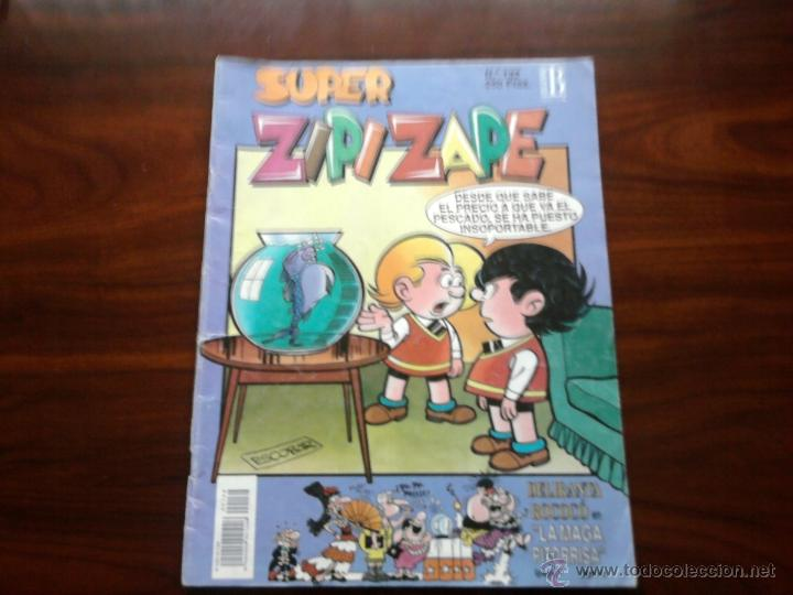 SUPER ZIPI ZAPE Nº132, EPISODIO 1º. (Tebeos y Comics - Ediciones B - Otros)