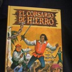 Cómics: COLECCION COMPLETA - 9 TOMOS - EL CORSARIO DE HIERRO - EDICIONES B - . Lote 116602502
