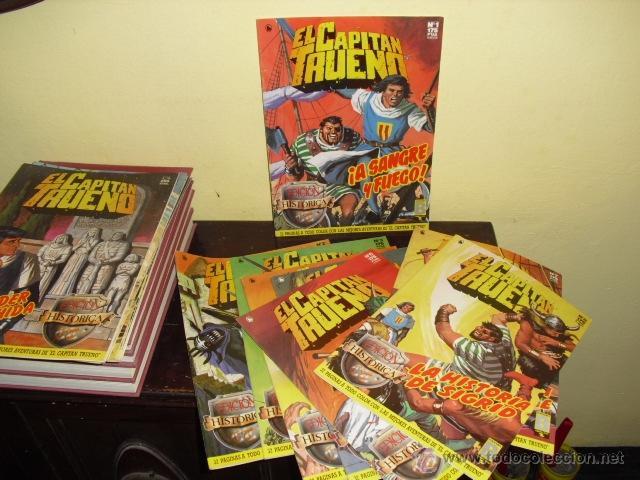 Cómics: EL CAPITAN TRUENO - EDICION HISTÓRICA . EDICIONES B - COMPLETA - Foto 2 - 44420453