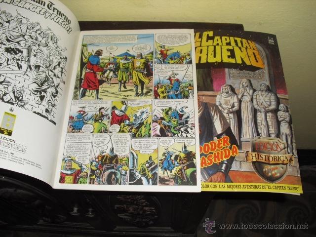 Cómics: EL CAPITAN TRUENO - EDICION HISTÓRICA . EDICIONES B - COMPLETA - Foto 3 - 44420453