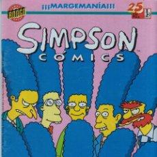 Cómics: SIMPSON COMICS Nº 25 -BONGO GROUP-EDICIONES B. Lote 44814225