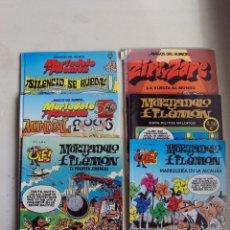 Cómics: LOTE DE COMICS 5 MORTADELO Y FILEMON Y 1 ZIPI Y ZAPE.. Lote 44843017
