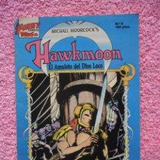 Cómics: HAWKMOON 6 EDICIONES B 1988 EL AMULETO DEL DIOS LOCO FIRST COMICS. Lote 44943672