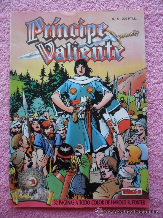 PRINCIPE VALIENTE 5 1988 EDICIONES B EDICION HISTORICA HAROLD FOSTER TEBEOS SA (Tebeos y Comics - Ediciones B - Otros)
