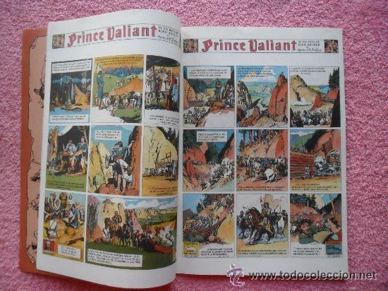 Cómics: principe valiente 5 1988 ediciones b edicion historica harold foster tebeos sa - Foto 2 - 45010872