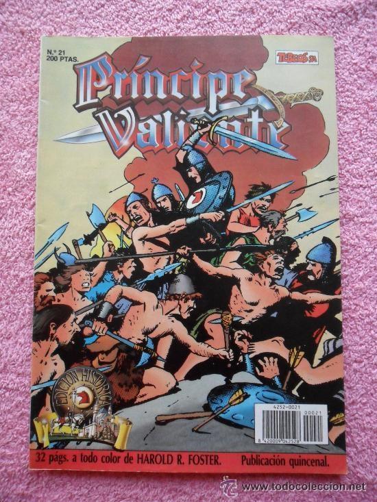 PRINCIPE VALIENTE 21 1988 EDICIONES B EDICION HISTORICA HAROLD FOSTER TEBEOS SA (Tebeos y Comics - Ediciones B - Otros)