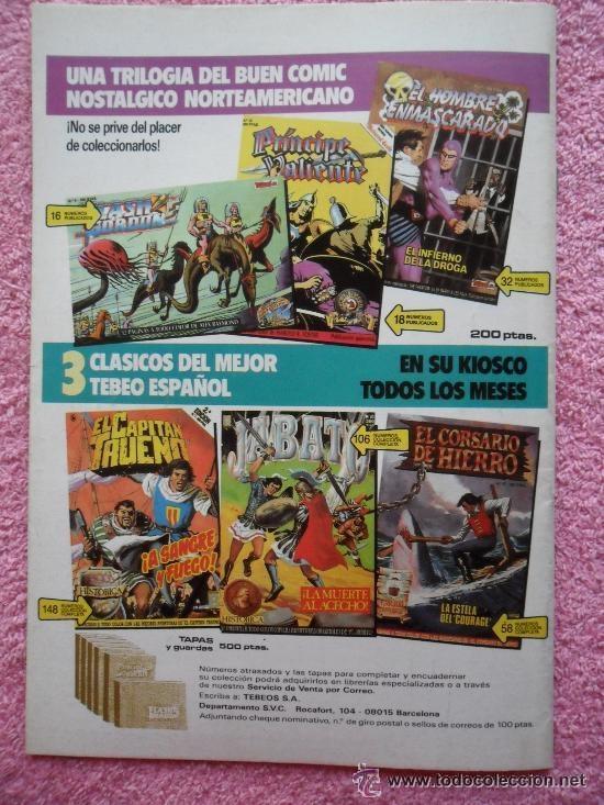 Cómics: principe valiente 21 1988 ediciones b edicion historica harold foster tebeos sa - Foto 3 - 45010985