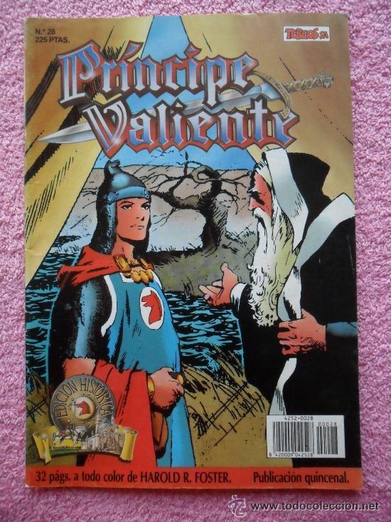 PRINCIPE VALIENTE 28 1988 EDICIONES B EDICION HISTORICA HAROLD FOSTER TEBEOS SA (Tebeos y Comics - Ediciones B - Otros)