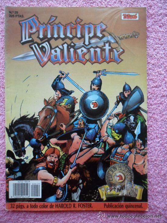 PRINCIPE VALIENTE 29 EDICIONES B EDICION HISTORICA 1988 HAROLD FOSTER TEBEOS SA (Tebeos y Comics - Ediciones B - Otros)