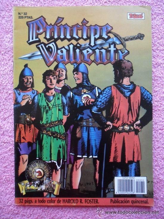 PRINCIPE VALIENTE 32 1988 EDICIONES B EDICION HISTORICA HAROLD FOSTER TEBEOS SA (Tebeos y Comics - Ediciones B - Otros)