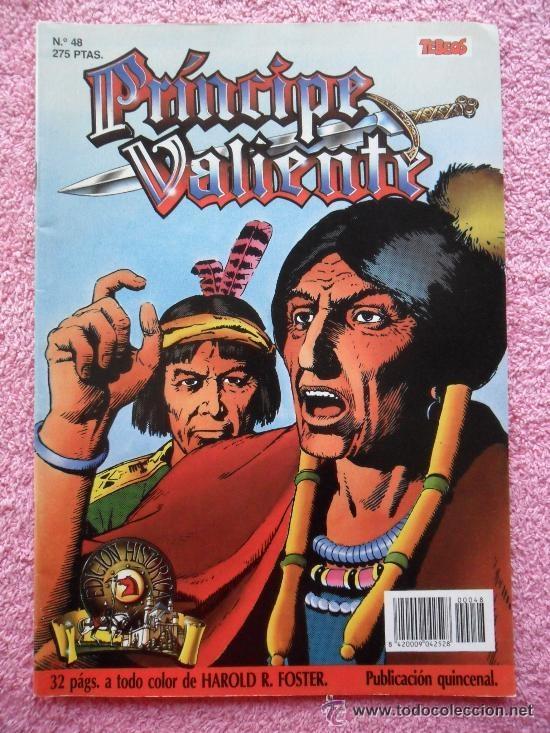 PRINCIPE VALIENTE 48 EDICION HISTORICA EDICIONES B 1988 HAROLD FOSTER TEBEOS SA (Tebeos y Comics - Ediciones B - Otros)