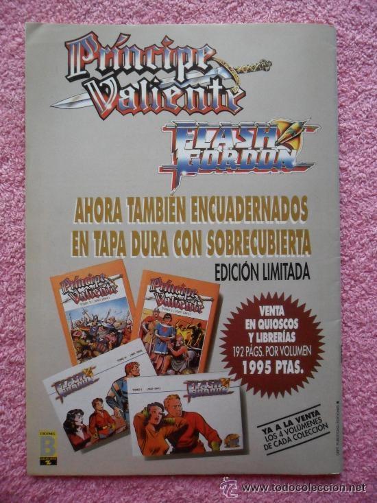 Cómics: principe valiente 48 edicion historica ediciones b 1988 harold foster tebeos sa - Foto 3 - 45011125