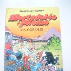 Comics - MESTRES DE L'HUMOR Nº 13 - MORTADEL·LO I FILEMO - ELS GORIL·LES - ED. B 1990 E7 - 45014724