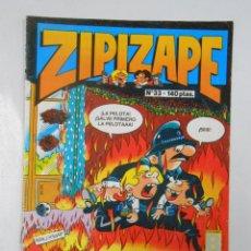 Cómics: ZIPIZAPE. ZIPI Y ZAPE. Nº 33. EDICIONES B. TDKC4. Lote 45057107