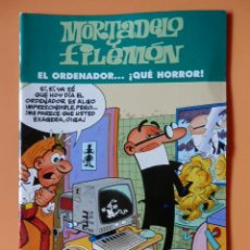 Comics: MORTADELO Y FILEMÓN. EL ORDENADOR... ¡QUÉ HORROR! - FRANCISCO IBÁÑEZ. Lote 45148130