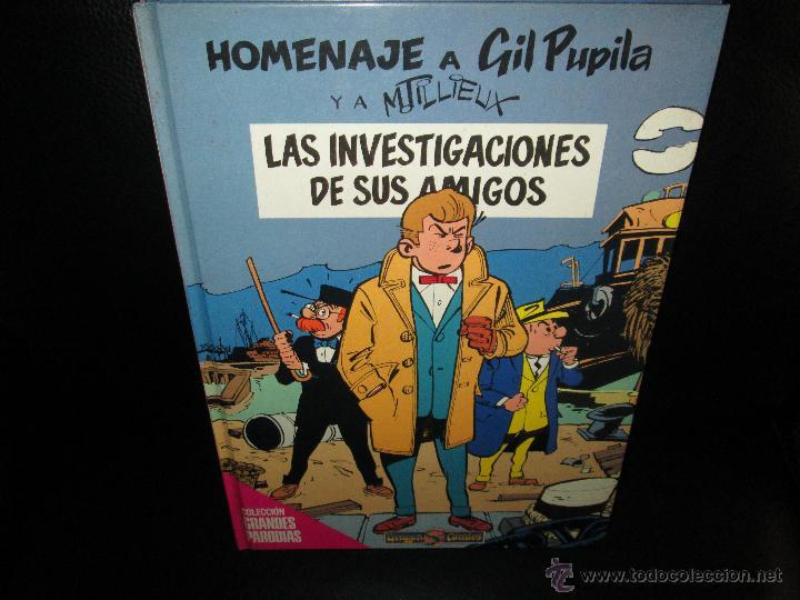 HOMENAJE A GIL PUPILA ~ DRAGON COMICS ~ EDICIONES B / 1990 1ª EDICION ~ (Tebeos y Comics - Ediciones B - Humor)