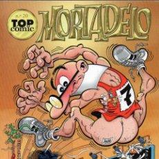Cómics: MORTADELO TOP COMIC EKL NUMERO EKL 20 ESOS KILITOS MALDITO Y AVENTURA EN ALEMANIA. Lote 45451940