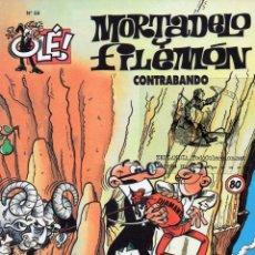 Cómics: MORTADELO Y FILEMON EKL EL CONTRABANDO. COLECCION OLE NUMERO 58. IBAÑEZ EDICIONES B 2005. Lote 45452208
