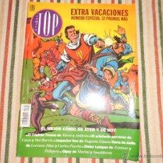 Cómics: TOP COMICS EXTRA VACACIONES CAPITAN TRUENO EL CONDE BROMISTA EDICIONES B GRUPO Z. Lote 45488383