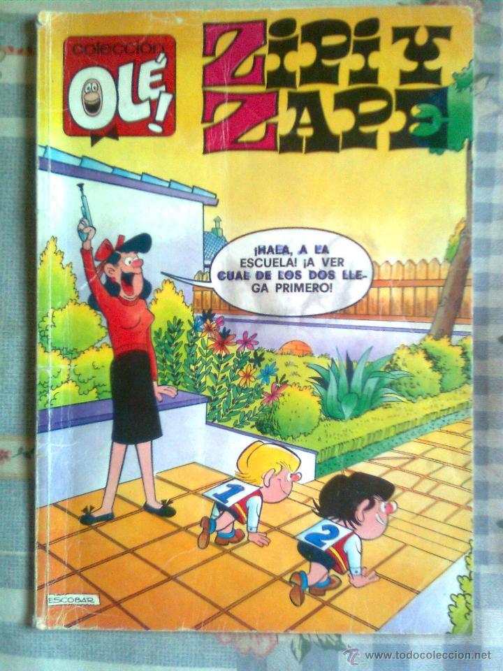 OLÉ!-ZIPI Y ZAPE- Nº 60 - ED. B- ´APRENDICES AL TUN TUN`- 1990-MAGISTRAL JOSEP ESCOBAR-OCASIÓN-2602 (Tebeos y Comics - Ediciones B - Clásicos Españoles)