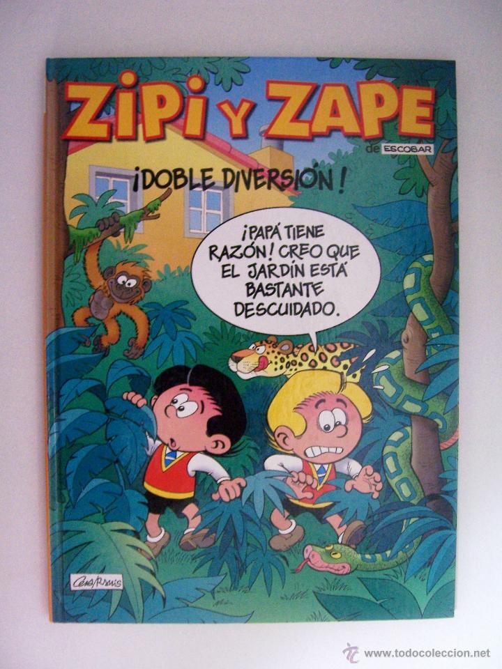 MAGOS DEL HUMOR Nº 2 ZIPI Y ZAPE ¡ DOBLE DIVERSION ! DE EDICIONES B (Tebeos y Comics - Ediciones B - Humor)