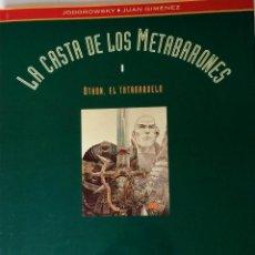 Cómics: JODOROWSKY , JUAN GIMENEZ - LA CASTA DE LOS METABARONES I - EDICIÓN LUJO - COLOR. Lote 45713811