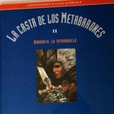 Cómics: JODOROWSKY , JUAN GIMENEZ - LA CASTA DE LOS METABARONES II - EDICIÓN LUJO - COLOR. Lote 45713832
