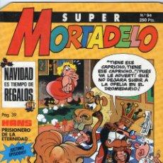 Cómics: SUPER MORTADELO - Nº 94 - EDICIONES B - AÑO 1991.. Lote 45980307