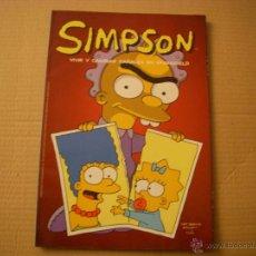 Cómics: SIMPSON , VIVIR Y CAMBIAR PAÑALES EN SPRINGFIELD, EDICIONES B. Lote 46103387