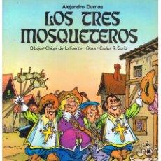 Comics: MARAVILLAS DE LA LITERATURA. Nº 2. LOS TRES MOSQUETEROS. DIB.CHIQUI DE LA FUENTE. LAROUSSE. (RF.MA). Lote 96517036