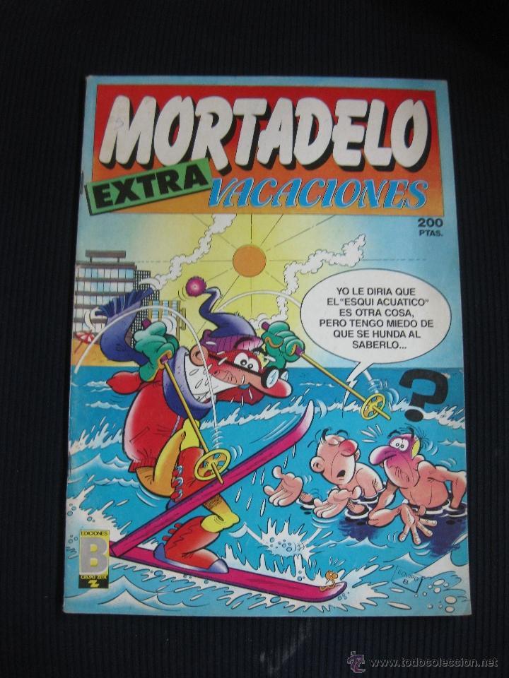 MORTADELO EXTRA VACACIONES. EDICIONES B. 1987 (Tebeos y Comics - Ediciones B - Clásicos Españoles)