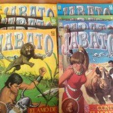 Cómics: JABATO EDICION HISTORICA 106 EJEMPLARES + 2 POSTERS (COMPLETA) - EDICIONES B- GRUPO Z 1987. Lote 46297621