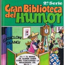 Comics: GRAN BIBLIOTECA DEL HUMOR. 2ª SERIE. 5 COMICS. VER DESCRIPCION. TAPA DURA. EDICIONES B. (RF.MA). Lote 46404410