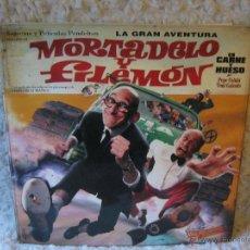 Cómics: LA GRAN AVENTURA - MORTADELO Y FILEMON EN CARNE Y HUESO. Lote 46508572