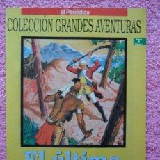 Cómics: GRANDES AVENTURAS 1 1993 EDICIONES B EL ÚLTIMO MOHICANO FENIMORE COOPER VOL 1. Lote 46527065