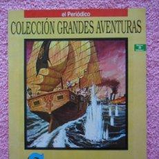 Cómics: SANDOKAN GRANDES AVENTURAS 2 1993 EDICIONES B EMILIO SALGARI VOL 1. Lote 46527095